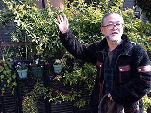 植物生態コンサルタントの泉健司さん