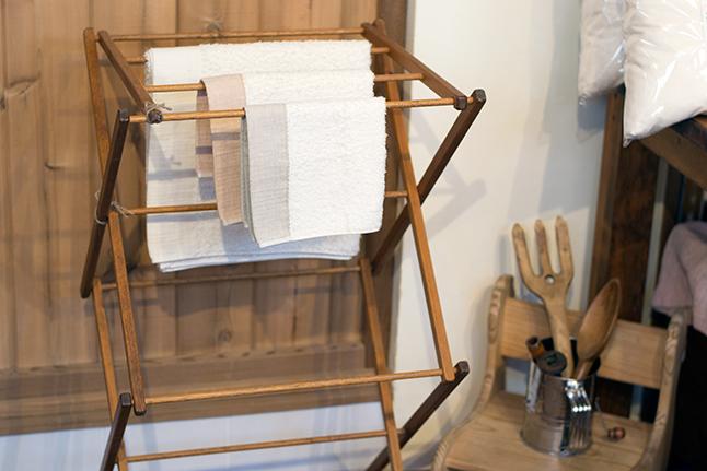 純オーガニックコットンのタオル。縫い糸もタグも全てオーガニック