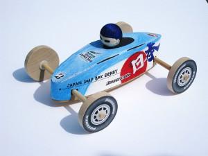地球のチカラで走る!ソープボックス モックカー。 作るのも走らせるのも楽しいよ!