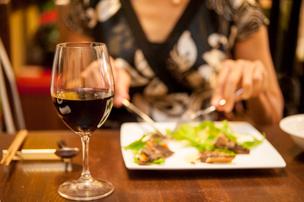 ワインは日本ワインのみ、というこだわり
