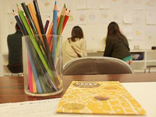 理想のカレーパンを絵に描く、「絵に描いたカレーパン」のワークショップ